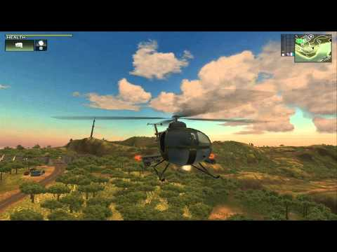 Just Cause Helicopter Jump!