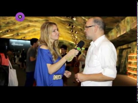 Giovanni Frasson da revista Vogue, dando conselhos para quem quer chegar no topo da carreira, assist