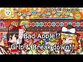 Touhou songs in Taiko no Tatsujin Switch Ver. (Bad Apple!! + Grip & Break down!!)