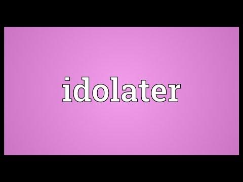 Header of idolater