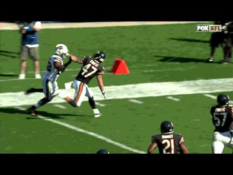 Fred Jackson stiff arms the FUCK out of Chris Conte as the Chicago Bears go down to the Buffalo Bills 23-20 in OT on Sunday, September 7th of 2014. Song: Lud...