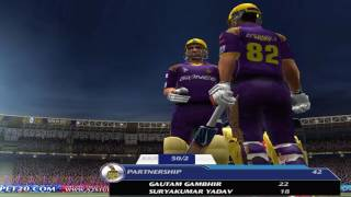 RCB Vs KKR #IPL 2017 EA Cricket Gameplay ● Royal Challengers Bangalore vs Kolkata Knight Riders