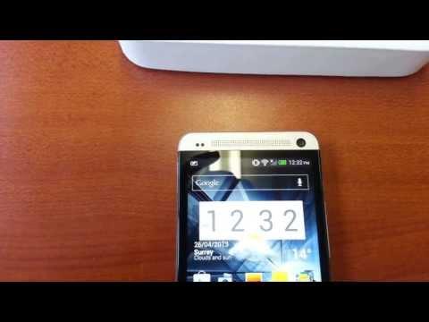 How To SIM Unlock HTC One by Unlock code from www.cellunlocker.net