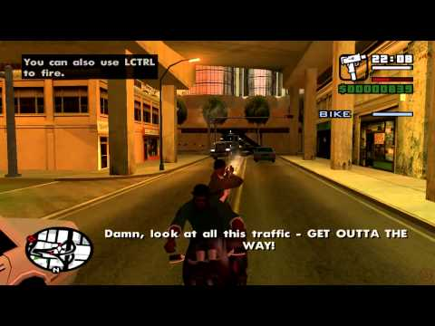 GTA San Andreas Mission 14 Just Business (PC)