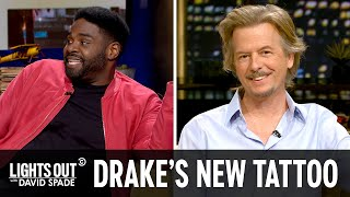 Drake Tries to Dunk on the Beatles with His New Tattoo - Lights Out with David Spade