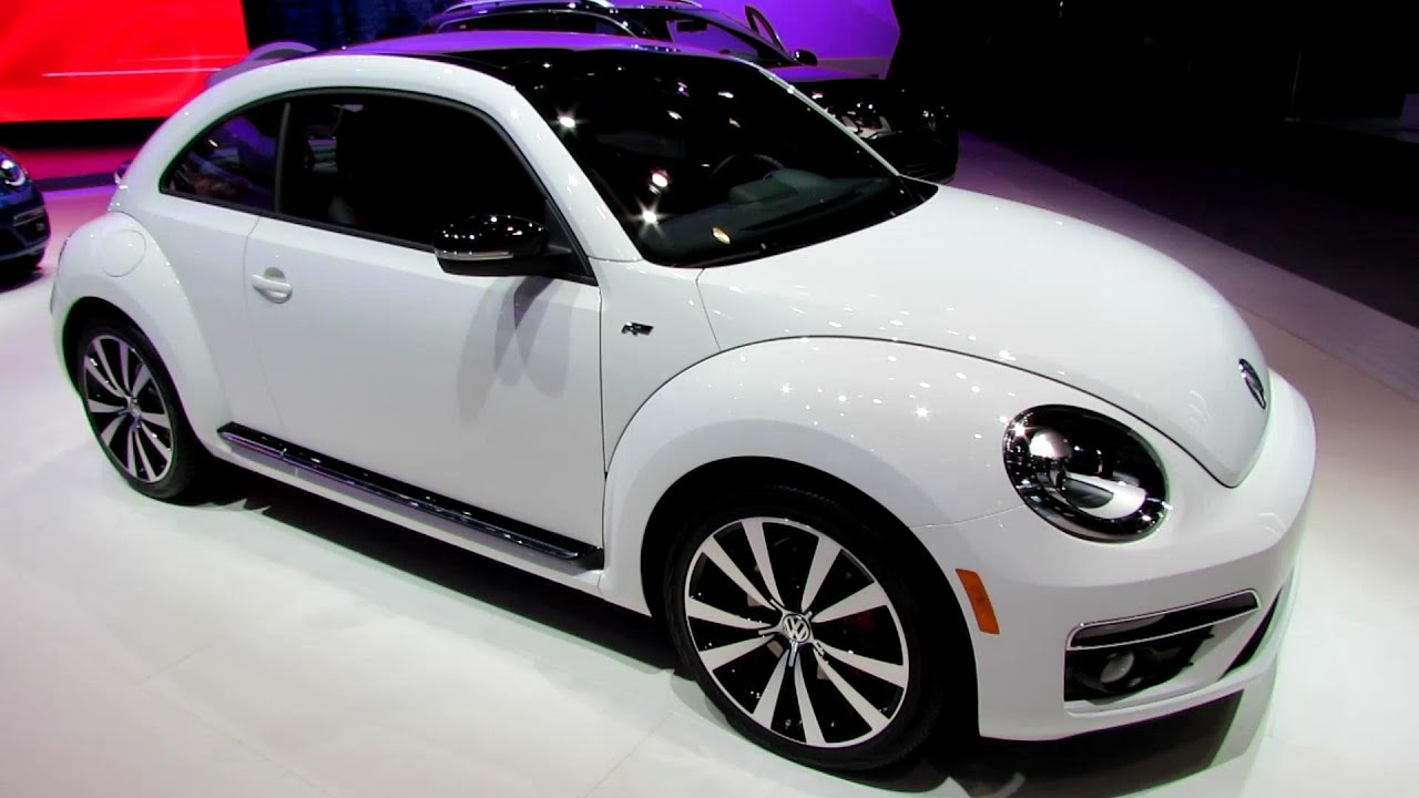 2014 Volkswagen Beetle Turbo R-Line - Exterior and Interior Walkaround - 2014 New York Auto Show ...