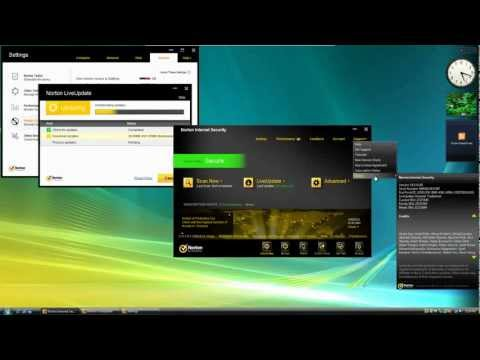 Norton Internet Security 2012 Virus Test and Review