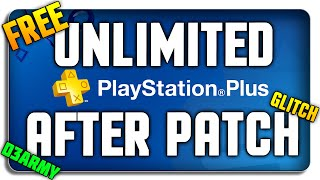 How to get FREE PS PLUS (After PATCH) (NO Credit Card) *WORKING*