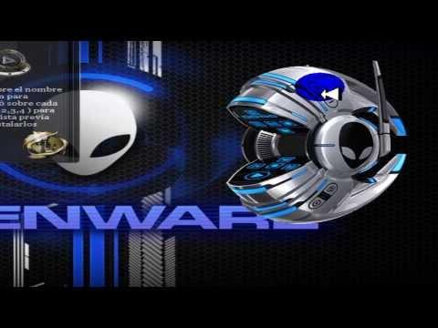 Instalar y Quitar Skin Invader Alienware Para Reproductor De Windows.