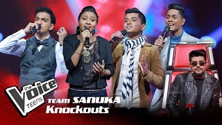 Team Sanuka | Knockouts | The Voice Teens Sri Lanka