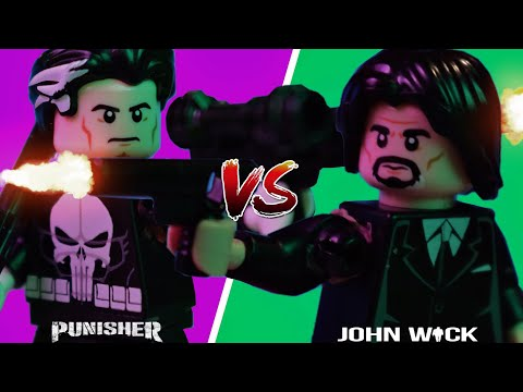 LEGO John Wick vs The Punisher