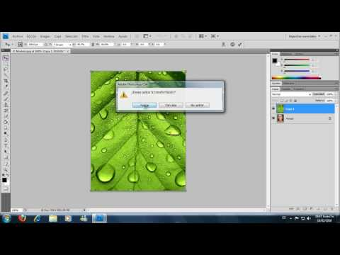 Tutorial Transparencia en PhotoShop