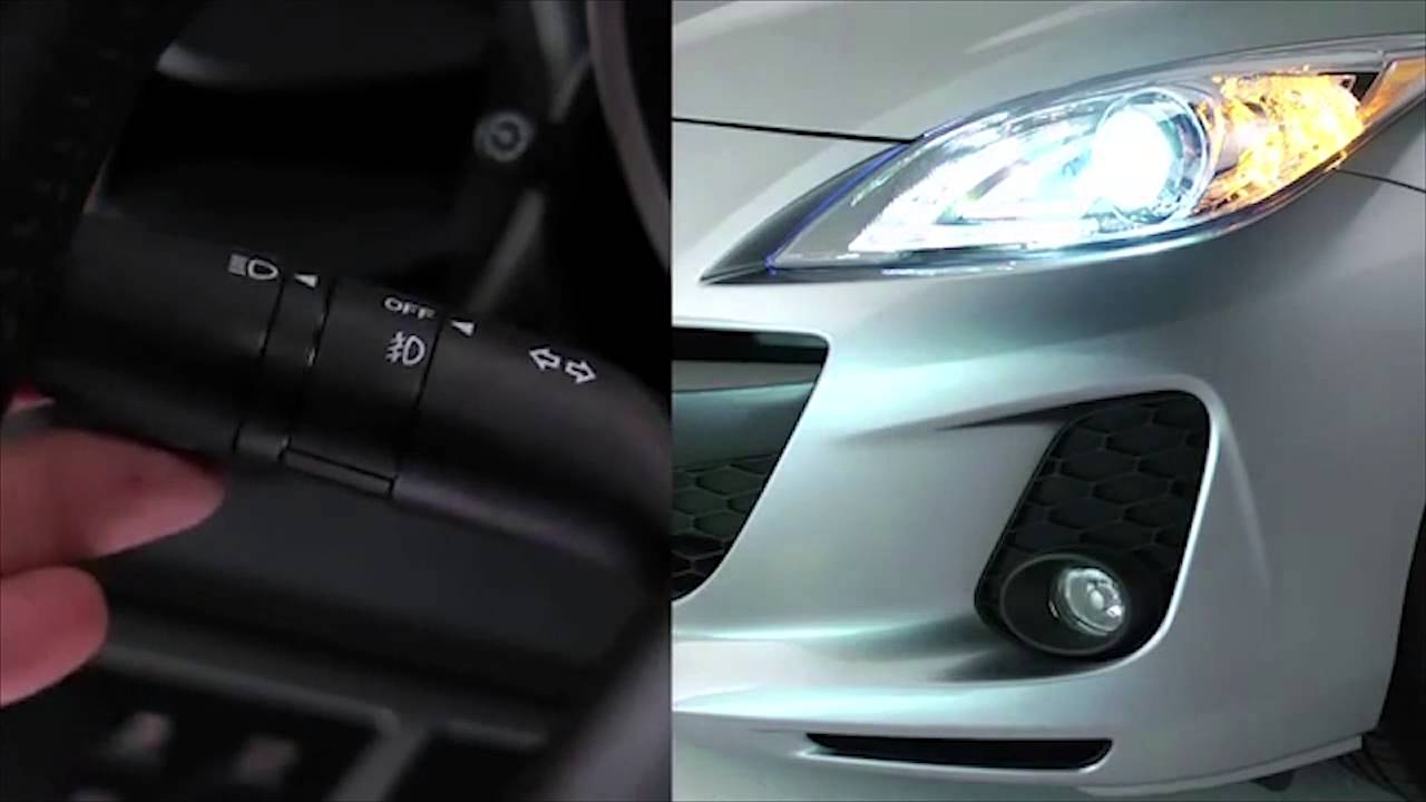 Mazda 3 Custom >> 2013 Mazda3 External Standard and Xenon Lights Tutorial - YouTube
