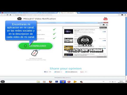 Como Hacer tu Propia Aplicacion (Google Chrome y Firefox)