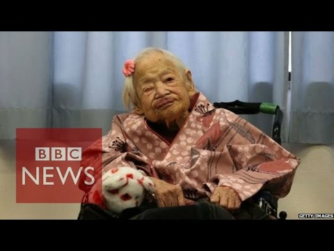 Japan: Woman's 117-year life in 45 seconds - BBC News