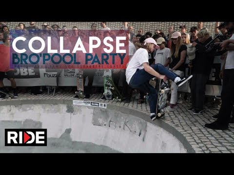 cOLLAPSe sKATEBOARDs Bro'Pool Party