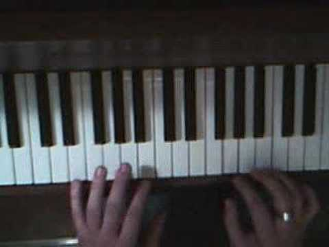 How to play Damien Rice's '9 Crimes' on piano