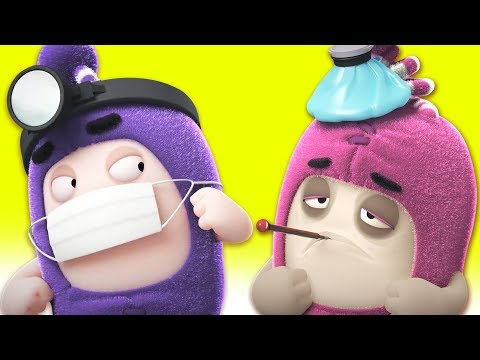 Oddbods - Doctor Odd | Mini Funny Cartoon Movie | Oddbods & Friends
