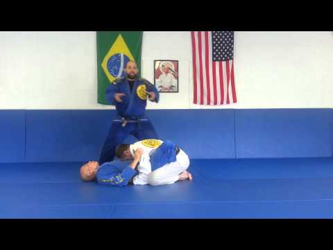 Victor Huber BJJ Technique of the Month: Pass the Open Guard Image 1