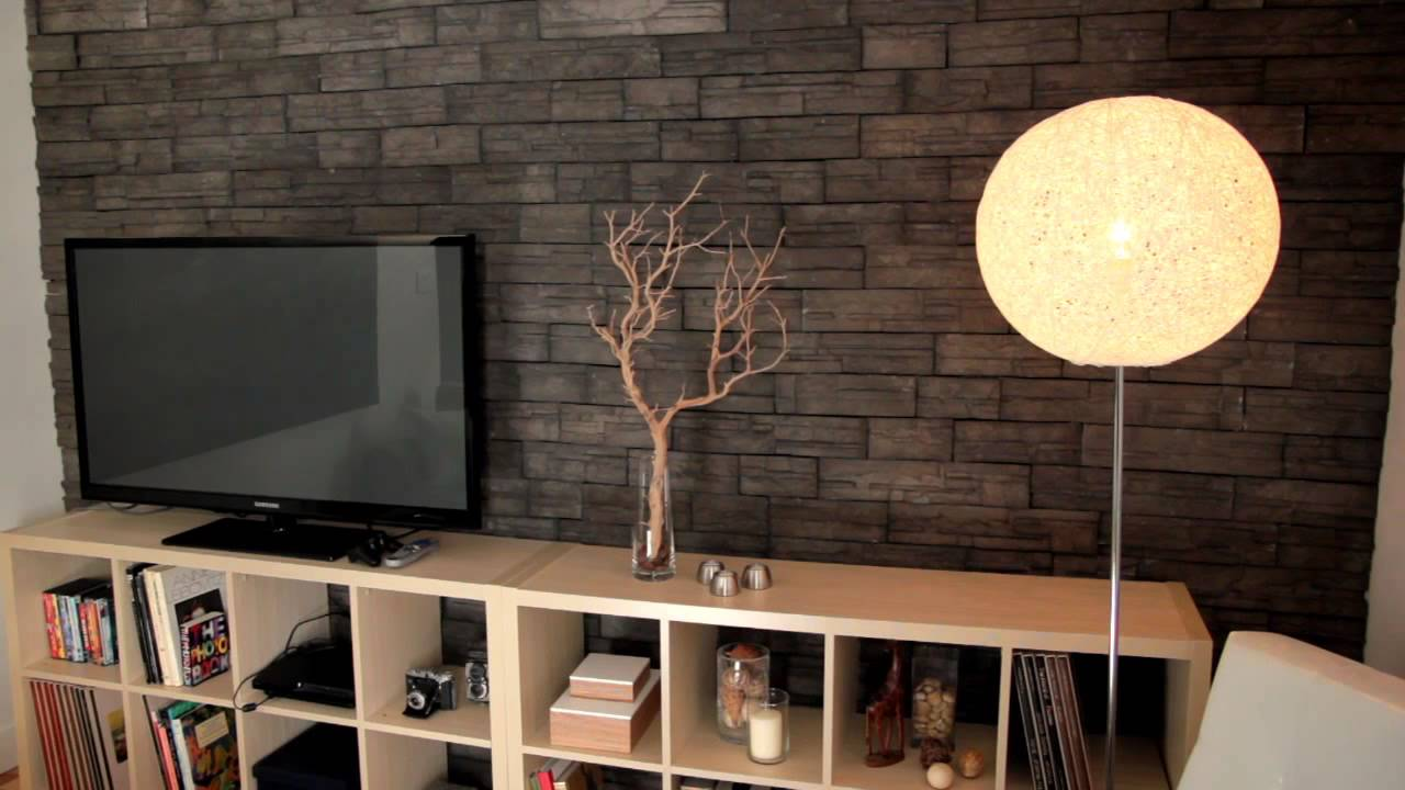 Transformez votre salon id es conseils rona youtube - Decoration murale design pour salon ...