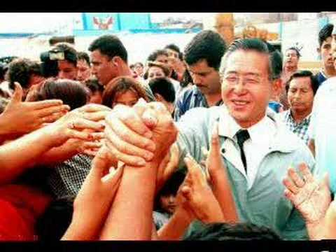Homenaje a Alberto Fujimori