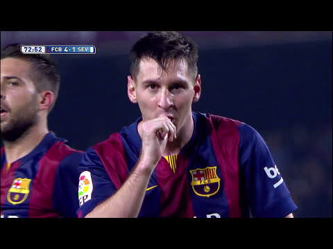 Messi supera a Zarra como máximo goleador en Liga BBVA - HD