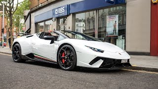LAMBORGHINI HURACAN PERFORMANTE SPYDER - FIRST DRIVE
