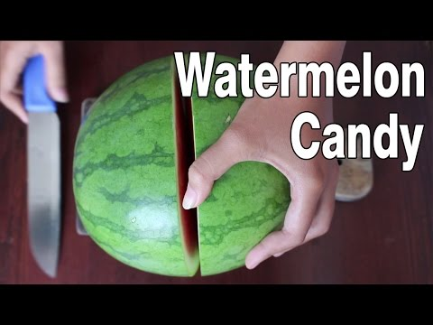How To Make Watermelon Candy At Home