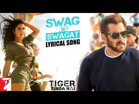 Lyrical: Swag Se Swagat Song With Lyrics | Tiger Zinda Hai | Salman | Katrina | Irshad Kamil