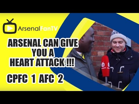 Arsenal Can Give You A Heart Attack !!! - Crystal Palace 1 Arsenal 2