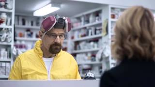 Walter White returns in Esurence Super Bowl 2015 Ad - HD 720p