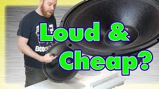 Can Cheap Woofers Get Loud? $150 SPL Challenge