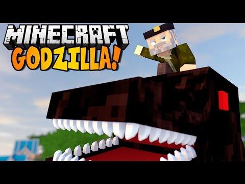 Minecraft | GODZILLA! NO Mods | Minecraft Vanilla | GODZILLA