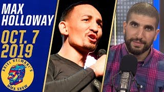 Max Holloway critiques Conor McGregor's focus, previews Volkanovski fight | Ariel Helwani's MMA Show