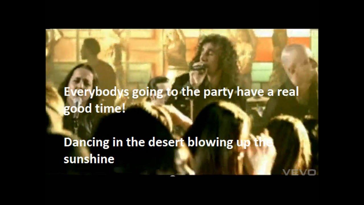 lyrics everybody party naughty