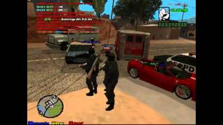 GTA San Andreas SWAT Vs Zombii