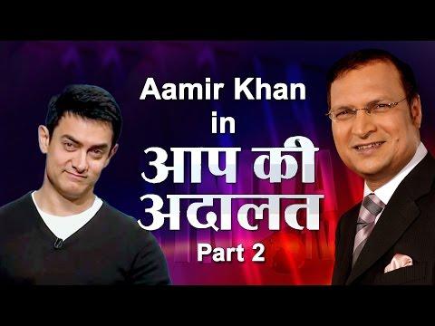 Aap Ki Adalat - Aamir Khan, Part - 2