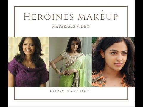 TOLLYWOOD HEROINES MAKEUP PRODUCTS