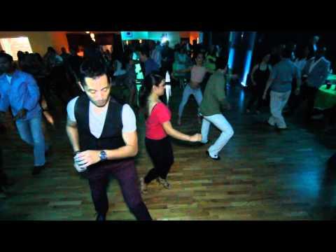 Salrica Salsa Social 03/05 - Andrew y Erica y Troy