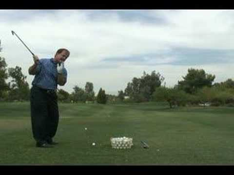 Keeping your Head Down when doing a Golf Swing