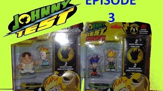 JOHNNY TEST Collection EPISODE 3 Unboxing SERIES 1 Mystery 2 Blind Box RARE Figurines set