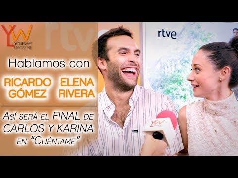 RICARDO GÓMEZ Y ELENA RIVERA avanzan cómo será EL FINAL de Carlos y Karina en