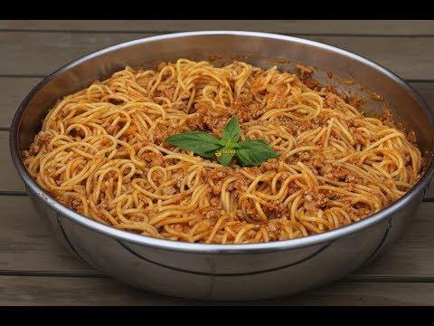 Špageti kamuflaža Spaghetti Camouflage - Sašina kuhinja