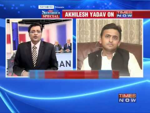 Excl: Akhilesh Yadav on TIMES NOW - 1