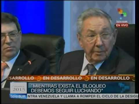 Intervención de Raúl Castro en la VII Cumbre de las Américas