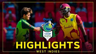 Highlights | West Indies v Pakistan | 2nd Osaka Presents PSO Carient T20 Cup Match
