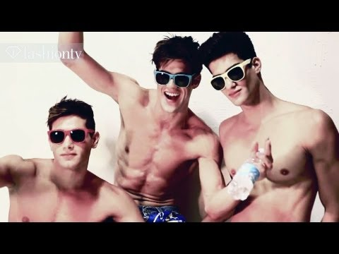 Cry Baby: Sexy Male Models Photographed By Giovanni Squatriti For Kurv Magazine | Fashiontv Fmen video