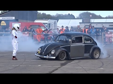 2015 Apex Festival - Stunt Show With Turbo Charged VW Beetle