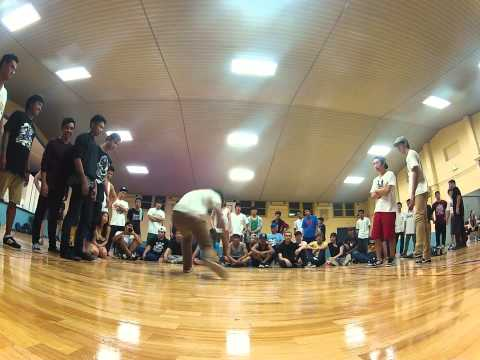 Round2 - TRICKATRONS vs BLANK CANVAS - Sydney Bboy League 2