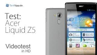Acer Liquid Z5 - Test in deutsch (HD)